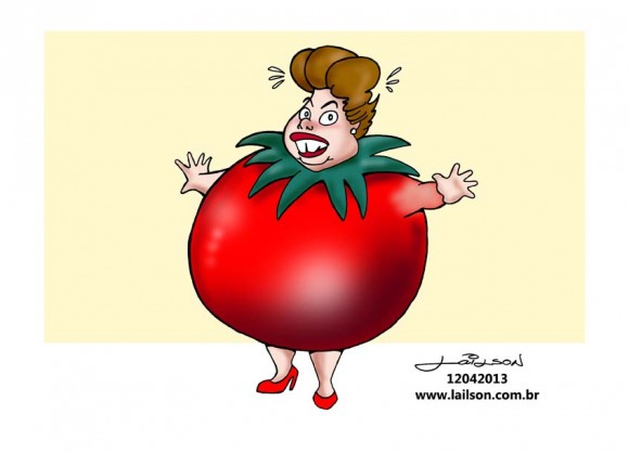 Dilma mulher tomate