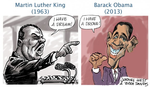 Diferença entre Luther King e Obama