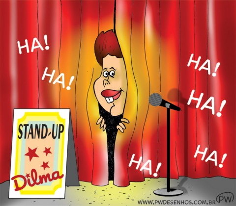 Stand-up Dilma